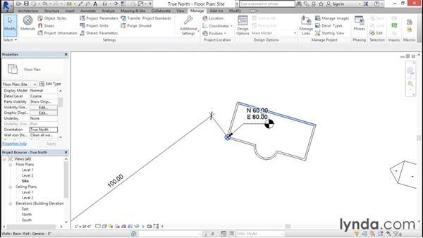 Configuring true north: Managing Location Coordinates with Revit