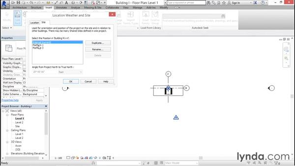 Cross-linking multiple sites: Managing Location Coordinates with Revit