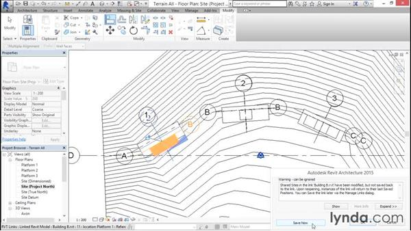 Swapping and updating files: Managing Location Coordinates with Revit