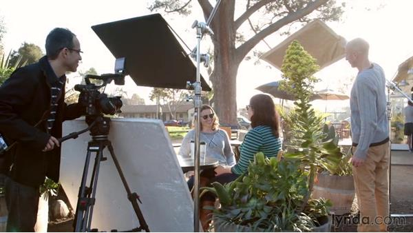 Tips on working with natural light: Corporate and Documentary Video Lighting