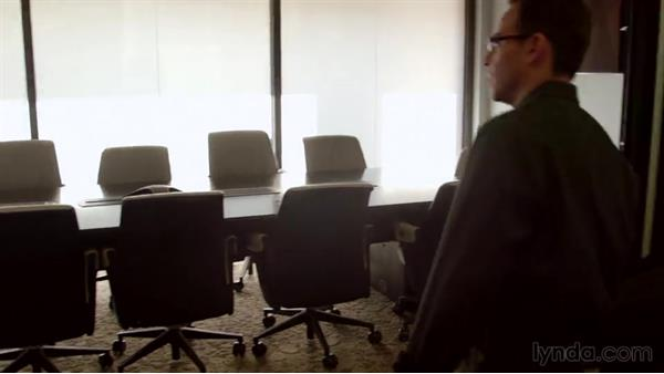 Analyzing the interview location: Corporate and Documentary Video Lighting