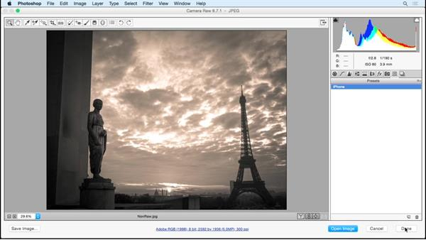 Saving time with presets: Photoshop Insider Training: Rethinking the Essentials