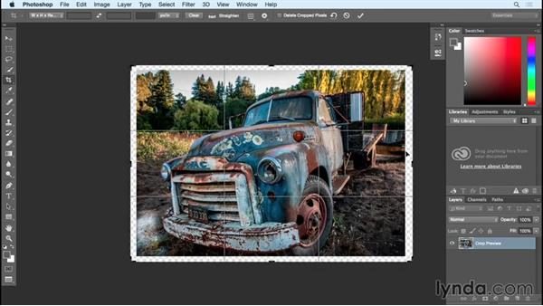 Changes to crop and what you need to know: Photoshop Insider Training: Rethinking the Essentials