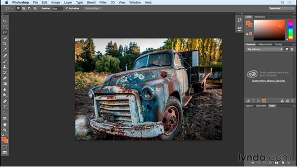 Moving and removing content (the new ways): Photoshop Insider Training: Rethinking the Essentials