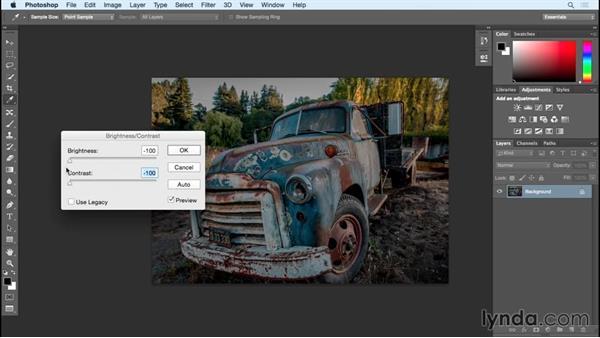 Bad adjustments turned good (Brightness/Contrast, Vibrance not Saturation, etc.): Photoshop Insider Training: Rethinking the Essentials