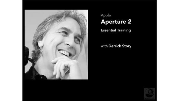 Using the example files: Aperture 2 Essential Training
