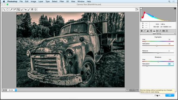 Better paths to black and white: Photoshop Insider Training: Rethinking the Essentials