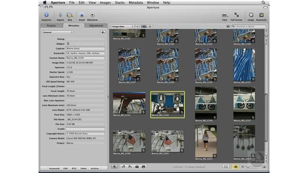 Using Quick Preview mode: Aperture 2 Essential Training