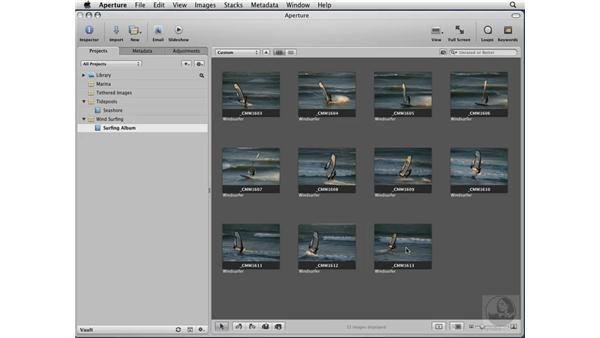 Creating Projects and Albums: Aperture 2 Essential Training