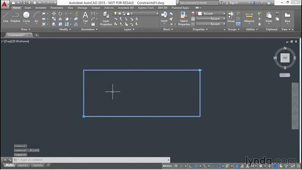 Applying dimensional constraints within a block: Designing Dynamic Blocks in AutoCAD
