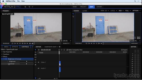 Media editing and composites: HitFilm 3 Pro Essential Training