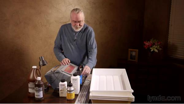 Understanding the processing tools: Setting Up a Home Darkroom
