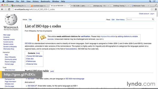 Specifying language: Hreflang annotations/XML: International SEO Fundamentals