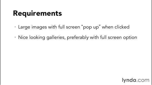 Identifying requirements for a photography site: WordPress and Genesis DIY: Showcasing Photography