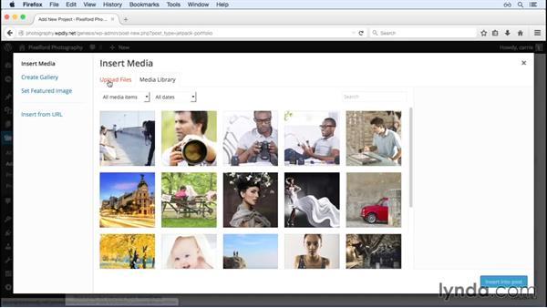 Adding Portfolio content with Jetpack: WordPress and Genesis DIY: Showcasing Photography