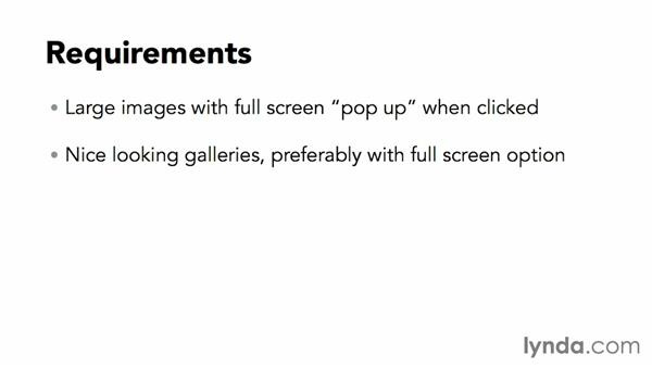 Identifying requirements for a photography site: WordPress DIY: Showcasing Photography