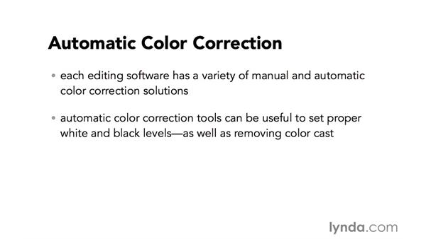 Introduction to automatic color correction: Video Post Tips Weekly