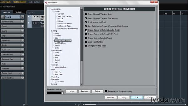 Investigating preferences for user ease: Up and Running with Cubase Pro 8