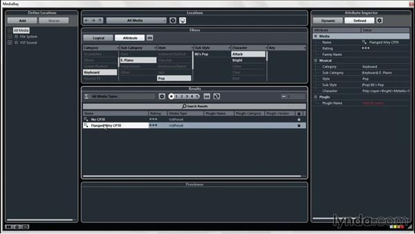 Creating a VSTi from the Media Bay: Up and Running with Cubase Pro 8
