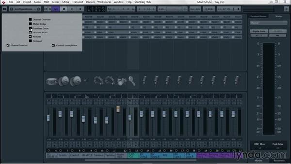 Adapting track height and using Notepad: Up and Running with Cubase Pro 8