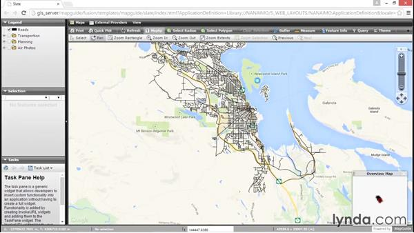 Using Google and other external providers in application definitions: Up and Running with MapGuide Open Source