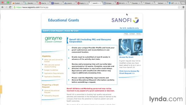 Finding your funding agency: Private: Grant Writing for Education