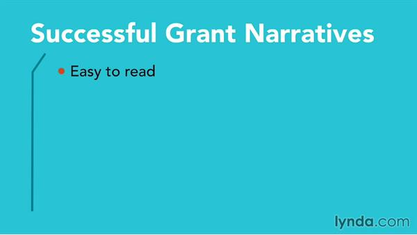 Narrative: Grant Writing for Education