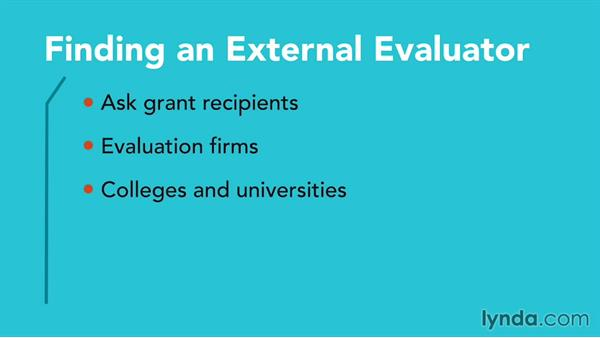 Evaluation plan: Grant Writing for Education