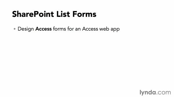 Ways to create SharePoint list forms: SharePoint 2013: Customizing List Forms