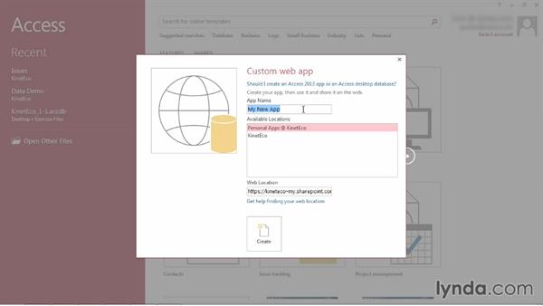 Creating an Access web app: SharePoint 2013: Customizing List Forms