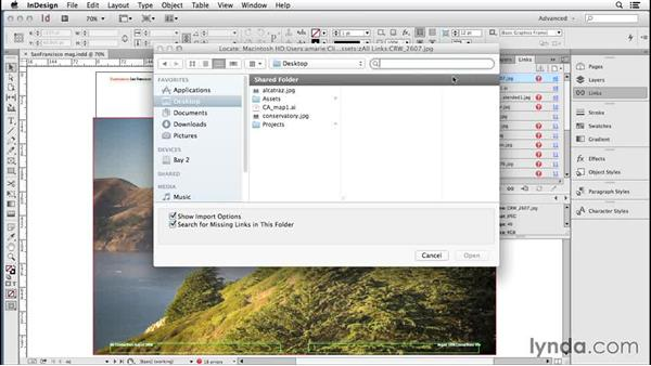 181 The fastest way to find missing links: InDesign Secrets