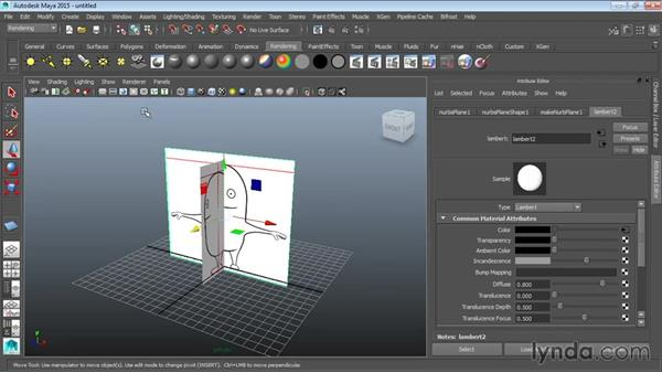 Setting up a reference in Maya: Modeling a Cartoon Character in Maya