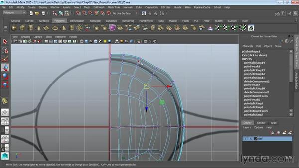 Refining the body: Modeling a Cartoon Character in Maya