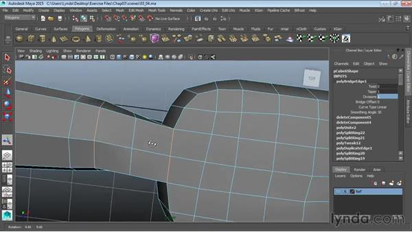 Attaching the hand to the arm: Modeling a Cartoon Character in Maya