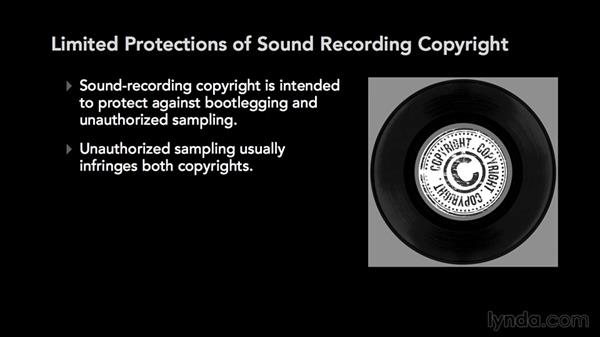 What is a sound recording copyright?: Music Law: Copyrighting a Song