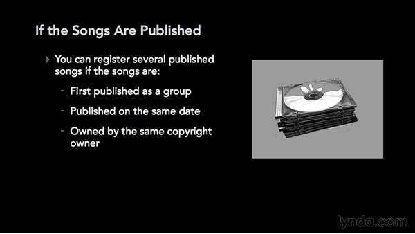 Entering your title or titles: Music Law: Copyrighting a Song