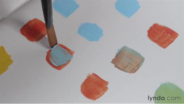 Using a limited palette in composition: The Elements of Composition for Illustrators