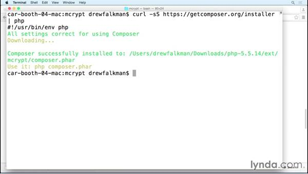 Installing Composer: MVC Frameworks for Building PHP Web Applications