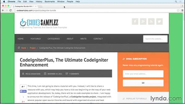 CodeIgniter concepts and features: MVC Frameworks for Building PHP Web Applications