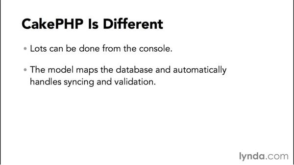 CakePHP concepts and features: MVC Frameworks for Building PHP Web Applications