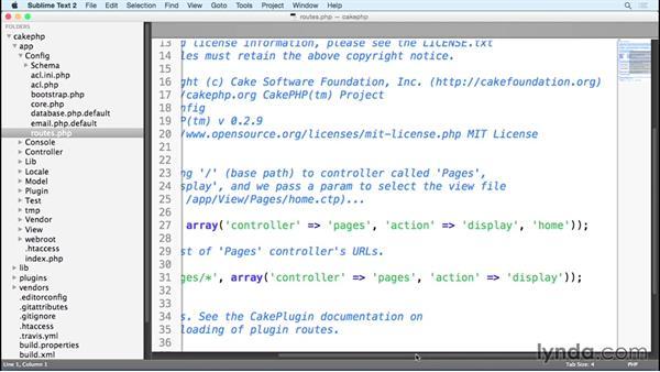 CakePHP app walkthrough: MVC Frameworks for Building PHP Web Applications (2015)