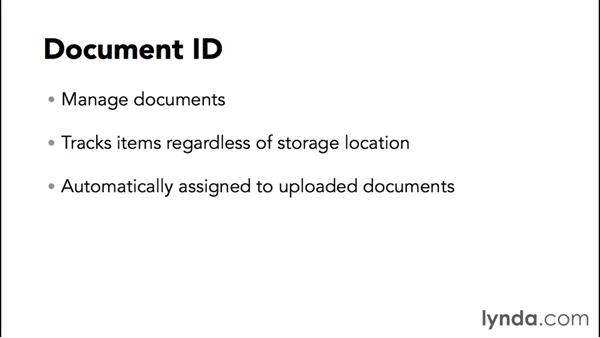 Exploring the features of the Document Center: SharePoint 2013 Site and Collection Templates