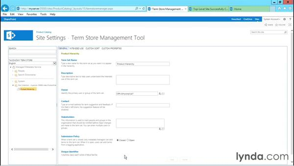 Using the Product Catalog template: SharePoint 2013 Site and Collection Templates
