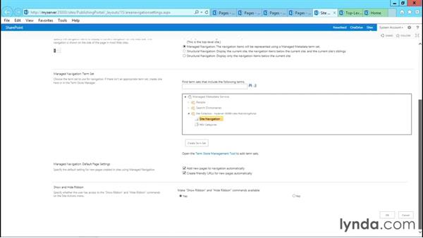 Using the Publishing site: SharePoint 2013 Site and Collection Templates