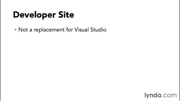 Exploring the features of the Developer site: SharePoint 2013 Site and Collection Templates