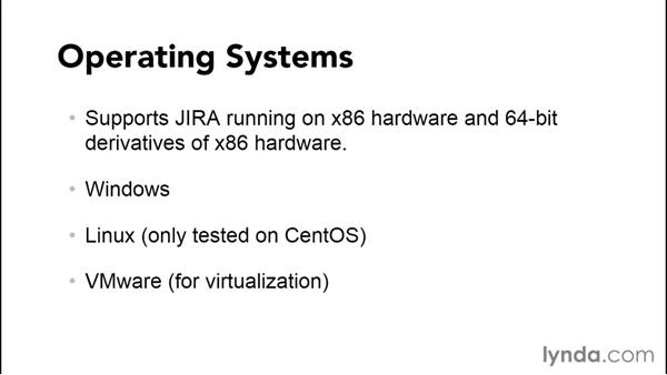Understanding the system requirements: Installing and Administering Atlassian JIRA