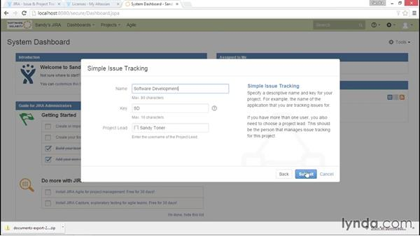 Reviewing a JIRA project: Installing and Administering Atlassian JIRA