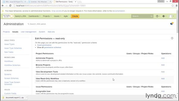 Archiving a project: Installing and Administering Atlassian JIRA