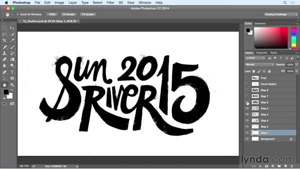 Inspiring designer: Ty Paulhus: Drawing Vector Graphics: Hand Lettering