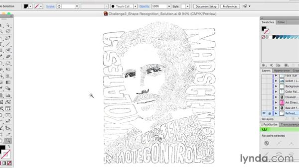 Closing: Drawing Vector Graphics: Hand Lettering